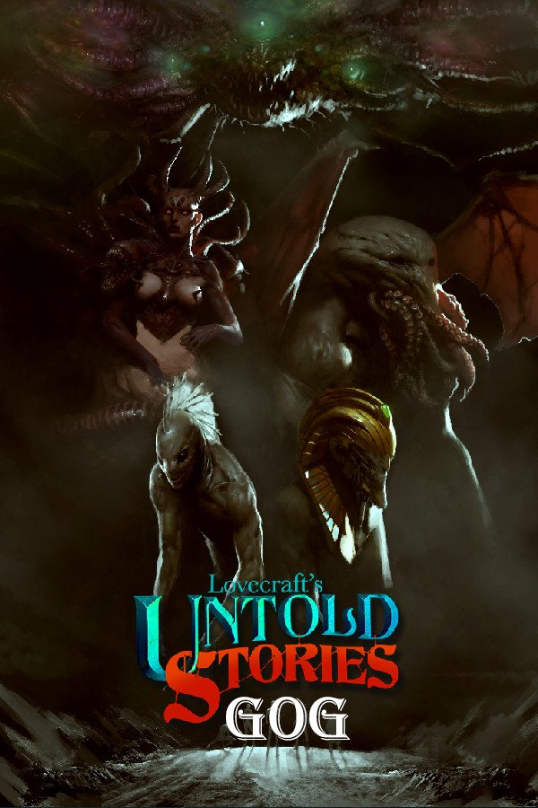 Lovecraft's Untold Stories v.1.33g [GOG] (2019) PC | Лицензия