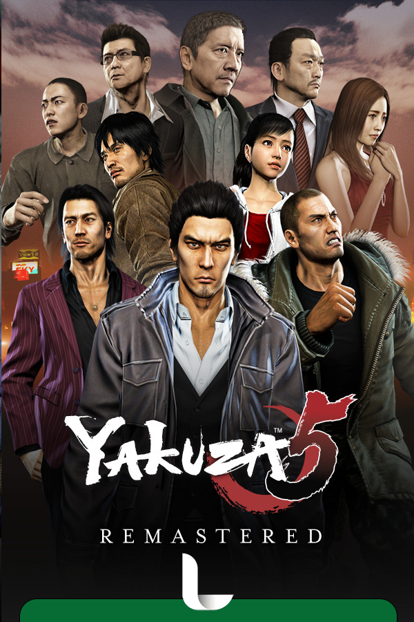 Yakuza 5 Remastered [CODEX] (2010-2021) PC | Лицензия